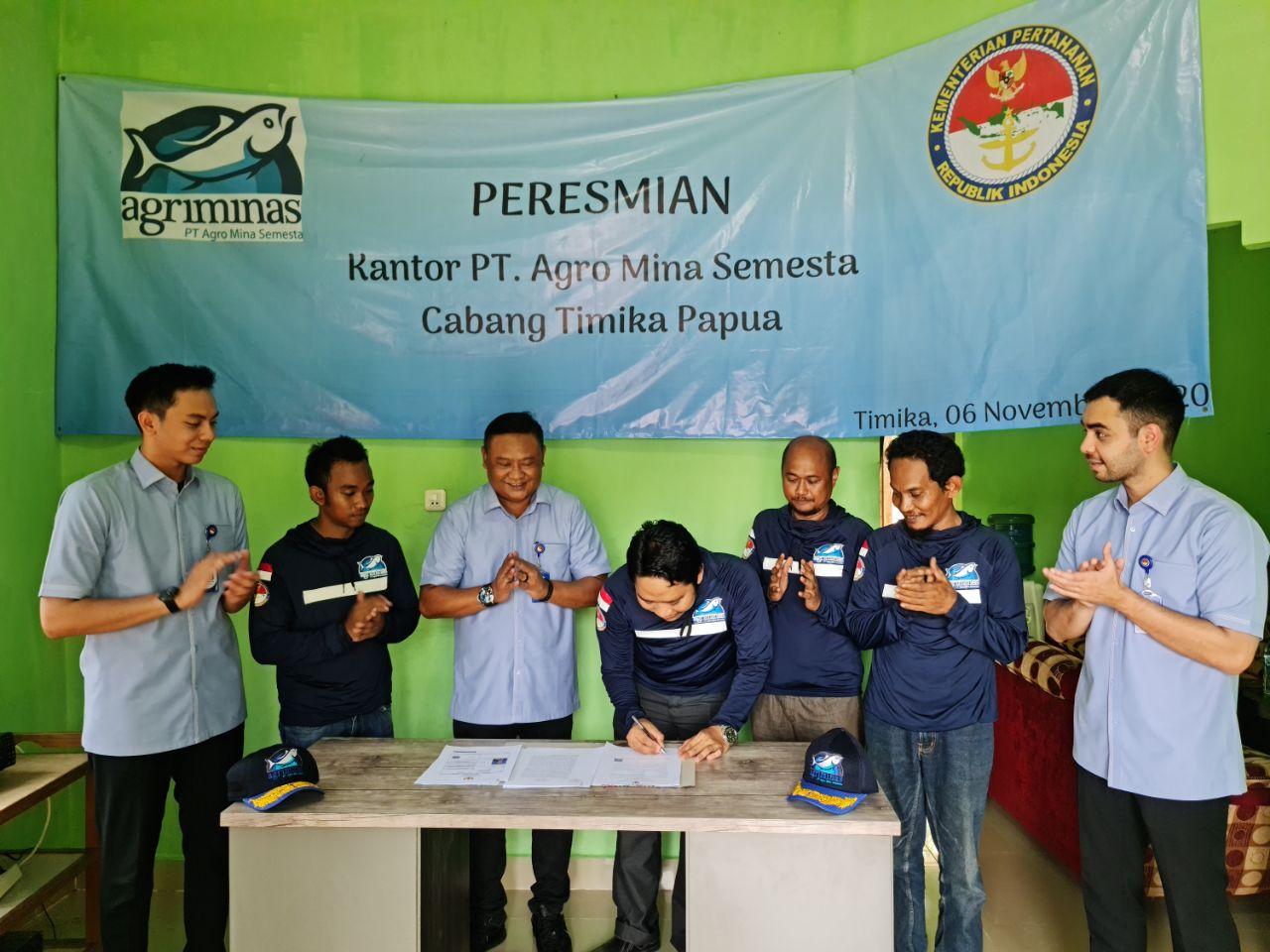 Burham ceremoni buka kantor Timika