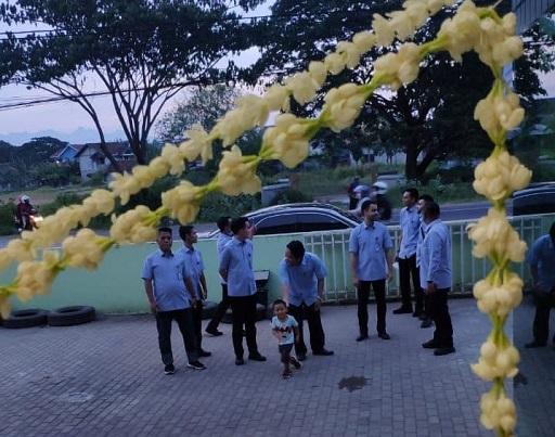 Halaman depan agriminas juwana sebelum potong bunga
